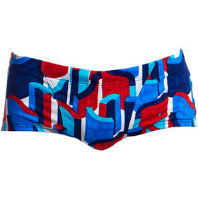 Funky Trunks Classic Uimahousut Miehet, block rock